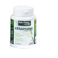 Kéraphane 60 gelules kératine, acides aminés, plantes, minéraux et vitamines