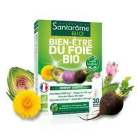 Bien-Être du Foie Bio Confort digestif 30 gélules Bourgeons Bouleau, Genévrier, Romarin.