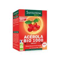 Acérola Bio 1000 Tonifiant 20 comprimés