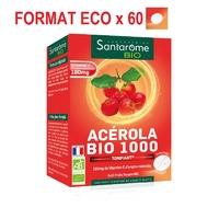 Acérola Bio 1000 Tonifiant 60 comprimés