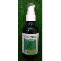 Huile CBD 30% bio 30ml - full spectrum avec pipette