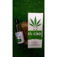 Huile CBD 5% 10 ml - full spectrum avec pipette
