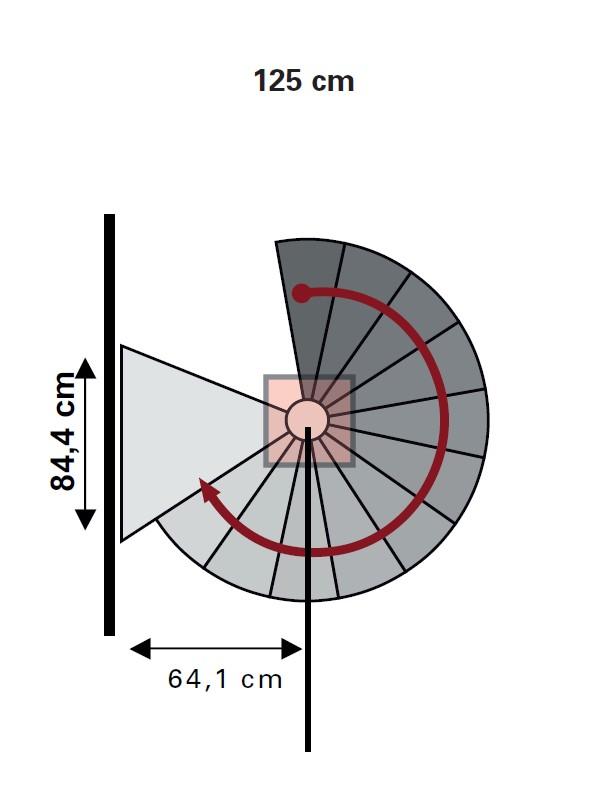 Escalier h lico dal ext rieur dolle en acier galvanis 125 cm - Dimension escalier helicoidal ...