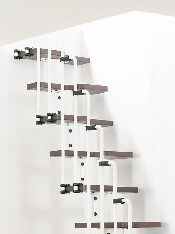 escalier gain de place pas japonais ark karina escaliers. Black Bedroom Furniture Sets. Home Design Ideas