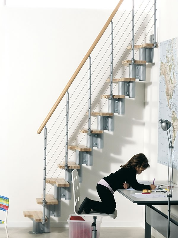 Escaliers gain de place free escalier bricot depot gain for Escalier gain de place quart tournant