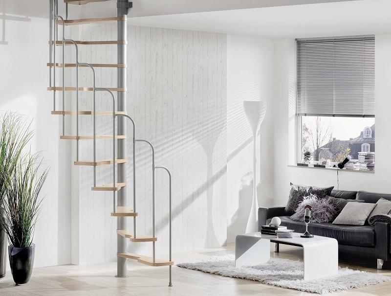 Escalier semi h lico dal treppen 70x140 cm escalier colima on - Jeux qui ne prennent pas beaucoup de place ...