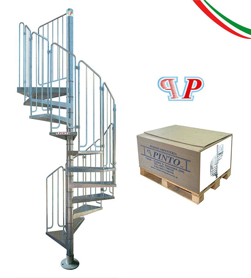 Escalier Ext Rieur Colima On Acier Galvanis Pinto Thor 100 Cm