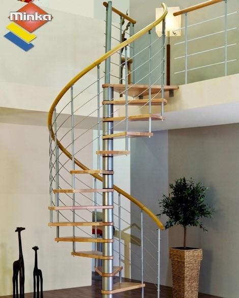 escalier en colima on minka venezia en h tre et acier 120 cm. Black Bedroom Furniture Sets. Home Design Ideas