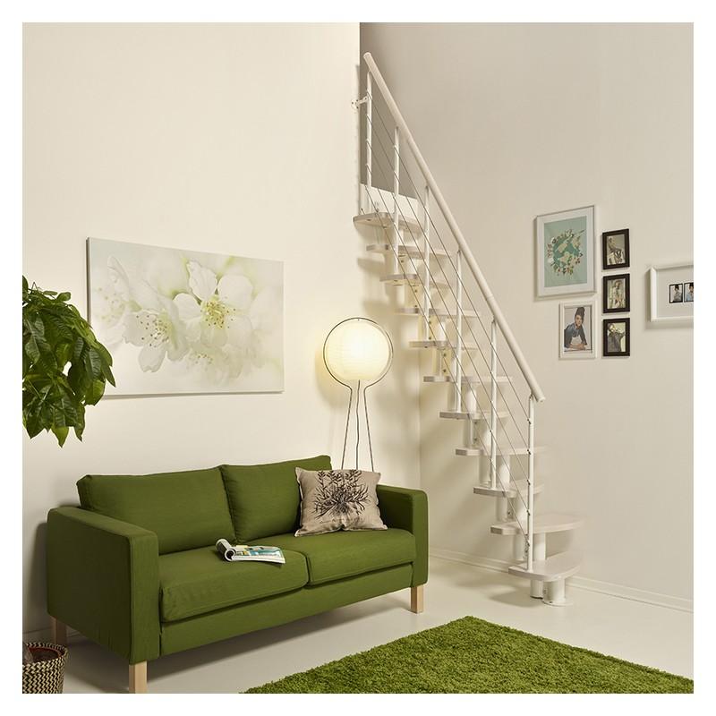 Escalier Gain De Place Design Fontanot Zen En Acier Bois