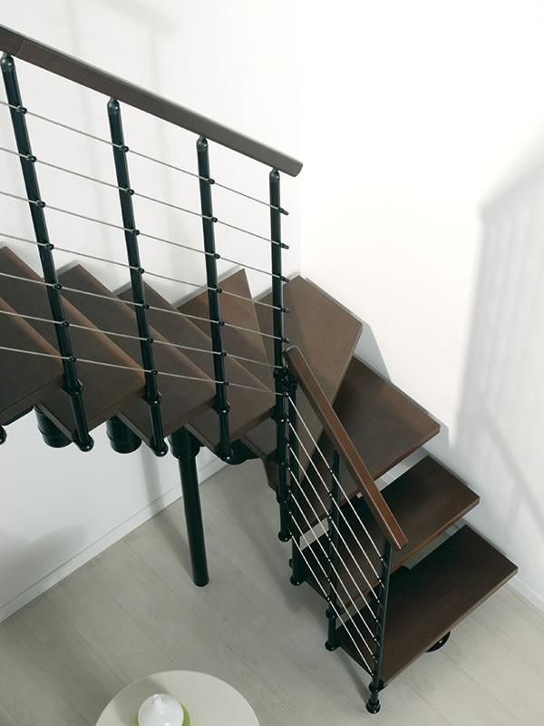 Escalier Arke Komoda En Metal Et Hetre Escaliers Quart