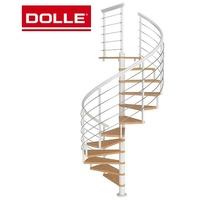 Escalier colimaçon en acier et hêtre Dolle Montreal Ø 120 cm