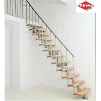 Escalier en acier et hêtre massif Minka Comfort