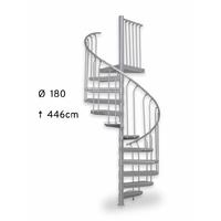 Escalier en colimaçon extérieur issue de secours Treppen Fribourg Ø 180 cm