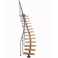 Escalier gain de place en acier et bois massif Atrium Mini Plus