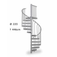 Escalier issue de secours en colimaçon extérieur Treppen Ø 220 cm