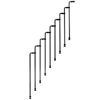 Garde-corps / rampe supplémentaire pour le 2ème côté Minka Twister