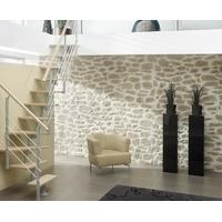 Escalier quart-tournant design Treppen Dortmund en métal et hêtre massif