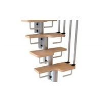 Contremarches pour escalier gain de place Arkè Karina / Kya