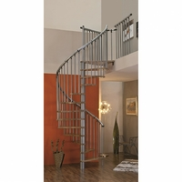 Escalier hélicoïdal / en colimaçon en acier et hêtre Minka Spiral Effect Ø 160 cm