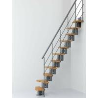 Escalier gain de place Magia 30 Xtra en acier et bois