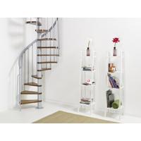 Escalier en colimaçon en acier et hêtre Fontanot Ago Ø 110 cm
