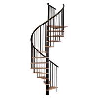 Escalier en colimaçon Treppen Cologne en acier et hêtre Ø 120 cm