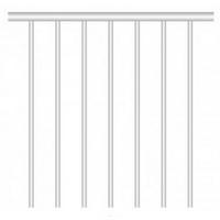 Garde-corps Treppen Cologne 100 cm en aluminium