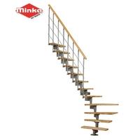 Escalier quart-tournant gain de place Minka Vienne