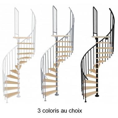 Escalier-colimacon-bois-metal