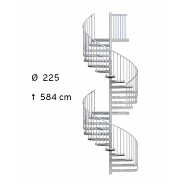 Escalier-colimacon-galvanise