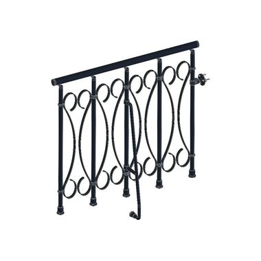 garde corps en m tal fer forg pour escalier fontanot unique. Black Bedroom Furniture Sets. Home Design Ideas