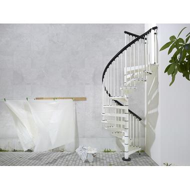 escalier ext rieur colima on fontanot sky en acier blanc 140 cm. Black Bedroom Furniture Sets. Home Design Ideas