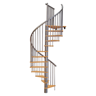 Escalier-colimacon-Treppen
