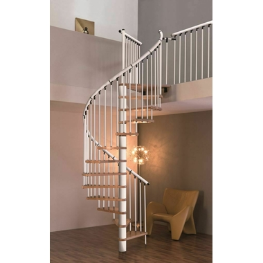 Escalier-colimacon-blanc
