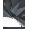 Escalier en colimaçon Fontanot Slim en acier gris fonte Ø 110 cm