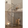Escalier en colimaçon en acier et chêne massif Minka Venezia Ø 160 cm