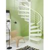 Escalier hélicoïdal / en colimaçon blanc Magia 50 Xtra Ø 110 cm
