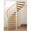Escalier semi-colimaçon Fontanot Tulip 178 cm