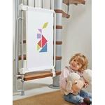 Barrière de sécurité enfants pour escaliers en kit Kalypto