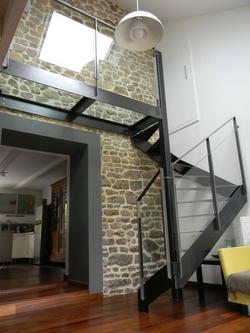 escalier helicoidal interieur