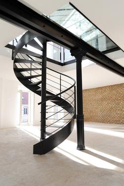 escalier helicoidal normandie