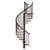 escalier-colimacon-Treppen-noir