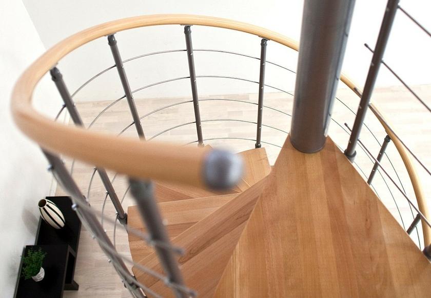 escalier h lico dal dolle oslo gris 160 cm escalier. Black Bedroom Furniture Sets. Home Design Ideas