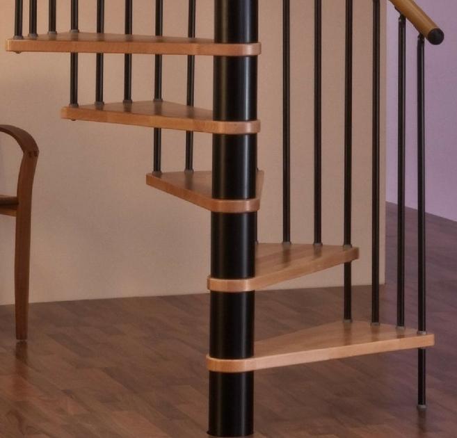 Escalier hélicoidal Minka 120 cm Escaliers colimaçon / hélicoïdal