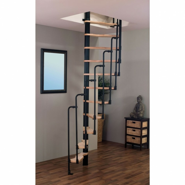 escalier semi h lico dal treppen 70x140 cm escalier colima on. Black Bedroom Furniture Sets. Home Design Ideas