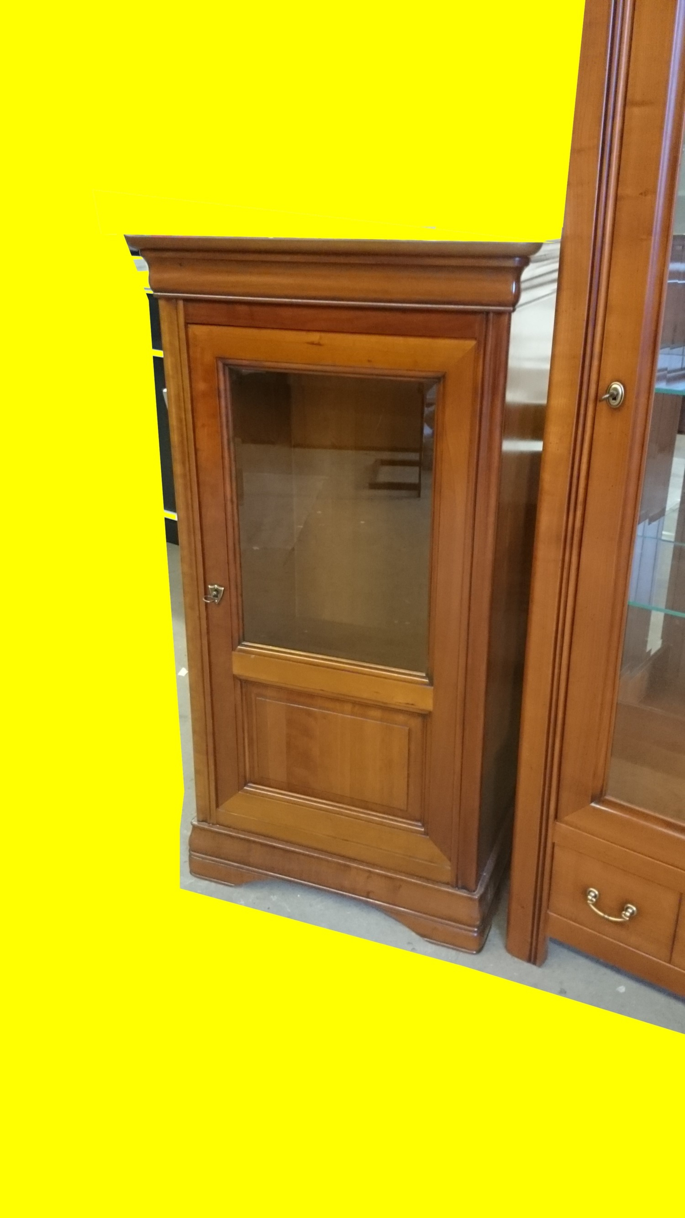 Vitrine Collection Ou Meuble Hifi Ernest Menard Maison Mobilier  # Meuble Tv Caisse Vin