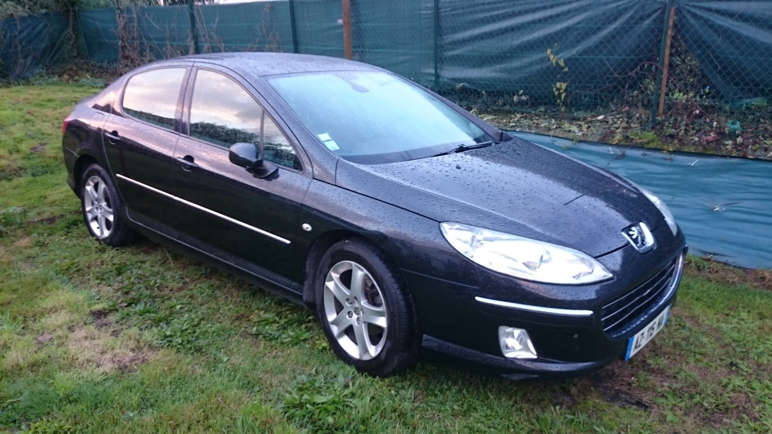 peugeot 407 navteq 230410 km 2007 2 0 hdi 136cv voiture magic affaires 22. Black Bedroom Furniture Sets. Home Design Ideas