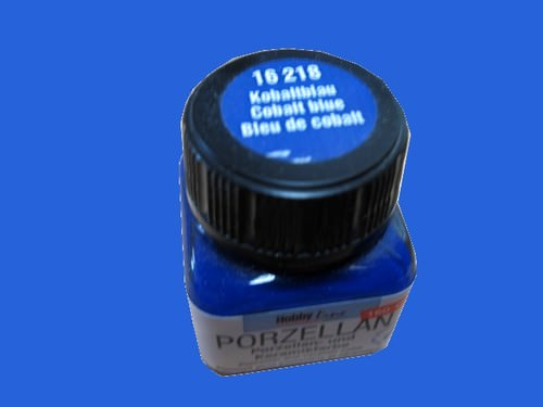 peinture bleu de cobalt hobby line porcelaine 20 ml 160 c 16218 loisirs cr atifs peinture. Black Bedroom Furniture Sets. Home Design Ideas