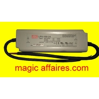 Driver LED Mean Well LPV-150-24 151 W 24 V 6,3 A tension constante ( code JL )