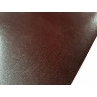 Set chemin de table design aspect cuir marbré marron bordeaux 69 x 47 cm  NEUF (2)